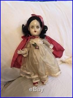 13 All Original 1930s Walt Disney Snow White Madame Alexander Composition Doll