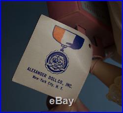 14 Madame Alexander Flora McFlimsey w Tag & Curler Box