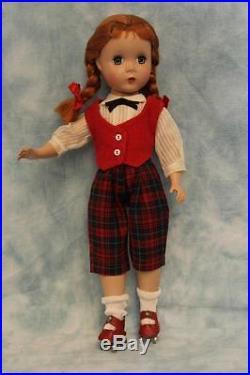 14 Madame Alexander Hard Plastic Maggie Face Kathy Roller skater Red Hair
