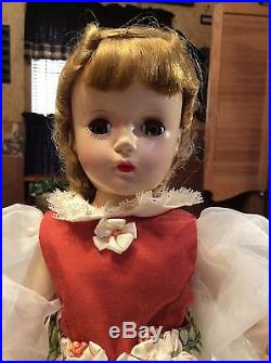 14 Vintage Madame Alexander Amy Little Women Doll With Margaret Face