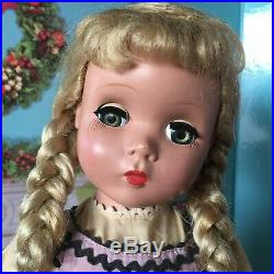 18 Madame Alexander Maggie-faced Kathy doll with pastel color block dress
