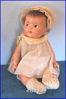 1930's ORIG. Madame Alexander Dionne quintuplets complete with nurse and furnit