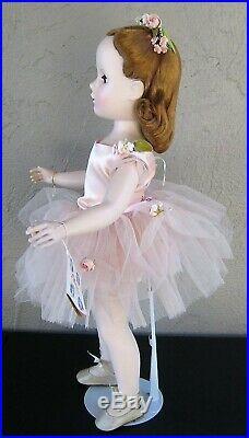 1950's Stunning 21 Madame Alexander Ballerina Pink Outfit RARE Brown Eyes