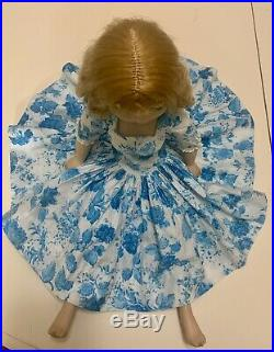 1950s Madame Alexander Cissy in tagged dress 20