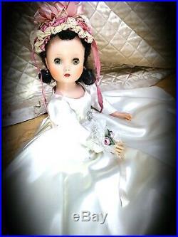 1950s Original tagged Madame Alexander 16 inch Elise doll