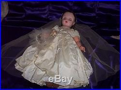 1955 Vintage Cissy Bride 24 Doll-exceptional Condition
