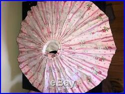 1956 Madame Alexander Cissy Tagged Pink Wallpaper Dress