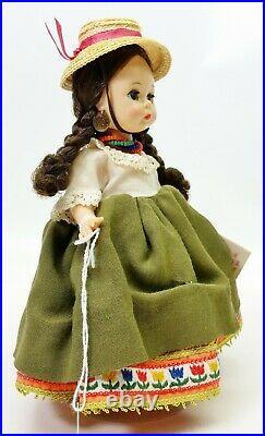 1960's Madame Alexander Bent Knee Walker BKW 8 Doll Ecuador No. 878