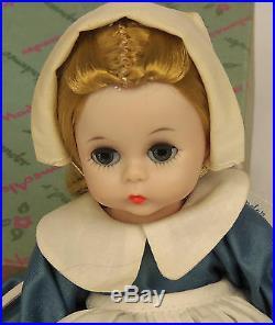 1962 Madame Alexander Kins COLONIAL GIRL #789 BENT KNEE WALKER 8 Wendy Doll MIB