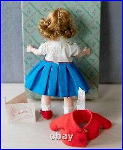 1963 Vintage Madame Alexander Wendy-kins Twice Tagged SMARTY Doll Box & Hang Tag