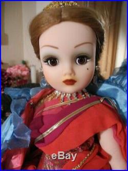 1998 Cissy VENICE Doll Madame Alexander 75th Anniv Cape Jeweled Elephant Head 21