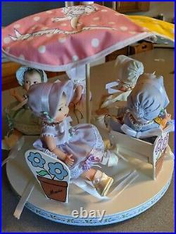 1998 Madame Alexander 75th Anniversary Dionne Quints, Carousel, Box ALL Original
