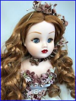 19.5 Madame Alexander Doll Renaissance Garden Cissy Beautiful Redhead With Tag