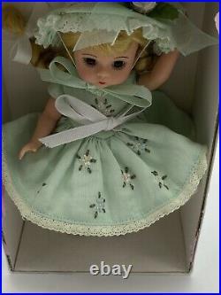 2000 Madame Alexander 8 Doll 26815 MINT TEA WENDY Original Box Stand Tag