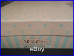 2001 Madame Alexander 21 Cissy Doll Black And White Ball Le395/500 Brand New
