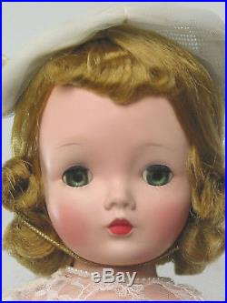 20 1956 Cissy Medici Bride. Orig/tagged. Beautiful Madame Alexander Cissy