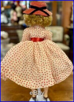 20 Vintage 50's Madame Alexander Cissy Doll withFactory 1956 Red Polkadot Dress