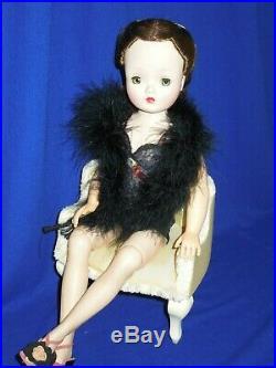 50's Madame Alexander 20 brunette Yardley wig Cissy doll + new ensemble