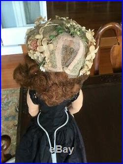 50's Vtg Madame Alexander 20 Cissy doll ALL ORIGINAL Black Widow, Redhead