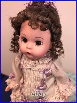 8 Madame Alexander Doll Keepsake Silk Victorian 28725 Beautiful With Box