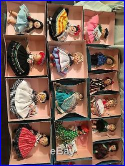 8 Madame Alexander Dolls From Other Countries