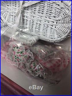 8 Madame Alexander Teddy Bear Tea Party 2002 132/750 Limited Mint With Box COA