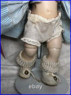 8 Vintage Antique Madame Alexander Nurse Hospital Blonde Bent Knee Walker #A