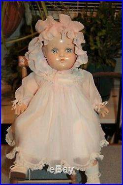 Antique Madame Alexander McGuffey doll 1940's in org clothes and box