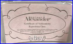 Beautiful Madame Alexander EQUESTRIAN 21 Cissy