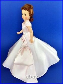 Beautiful Replica Cissy Doll Pink Rhinestone Side Drape Gown (no doll)