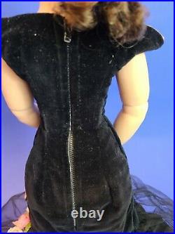 CISSY Black Torso Gown GORGEOUS DOLL