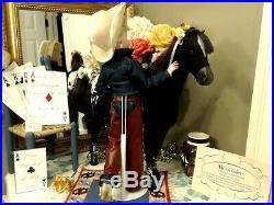 CISSY Madame Alexander 21 2004 RARE WESTERN SILVER SPURS COWGIRLCHAPSHORSE
