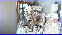 CISSY POMPADOUR BOY 21 Madame Alexander 2004 L. E. LOUIS XV + 3 ORIG DOGS & BOX