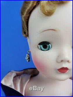 CISSY VHTF Doll in PURPLE TORSO GOWN 1957