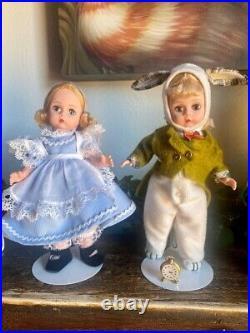 Complete Set 1995 Alice in Wonderland Madame Alexander Dolls