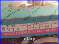 Doll Madame Alexander ALEXANDER-KINS Outfit #0578 in Box 3 pieces + shoes