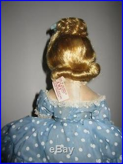 Early 1950s Madame Alexander 14 H. P. Amy doll Mint In Box