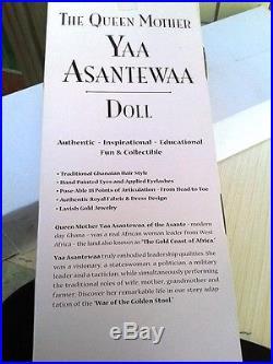 Ethidolls The QUEEN MOTHER YAA ASANTEWAA African Signature collection 16