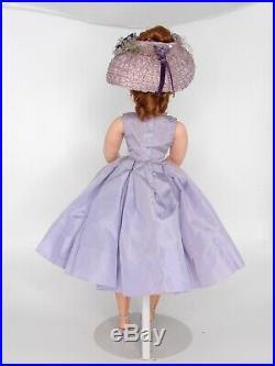 Excellent 1957 Cissy Doll Lavender Box Pleats Original With Accessories