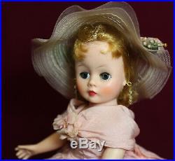 FABULOUS MADAME ALEXANDER 1950's Blonde Cissette Lady Hamilton Gown