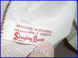 Fabulous Madame Alexander SLEEPING BEAUTY (Elise) 1959 All Original