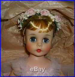 Gorgeous Mint 1963 Madame Alexander 16 Elise Ballerina # 1720 With Box