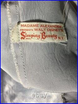 Gorgeous! Rare 1959 Vintage 16 Madame Alexander Sleeping Beauty