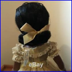 Gorgeous Rare vintage Black doll, Madame Alexander 1952 Cynthia