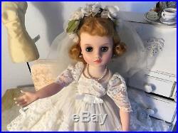 Gorgeous Vintage Hard Plastic 16 In. Elise Doll By Madame Alexander Htf Doll
