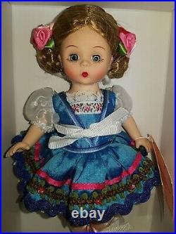 HARD TO FIND! ROYAL PETALS DANCER #47925 Madame Alexander 8 Doll ARTICULATED