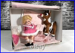 Htf Madame Alexander 8 Doll Rudolph The Red Nose Reindeer, 2007 New Mint