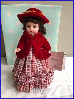 LOT OF 9 madame alexander girl dolls, 8 inch