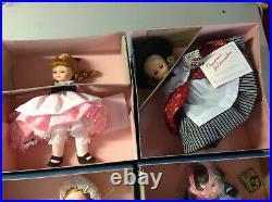 Lot of 14 Vintage Madame Alexander Dolls new in box