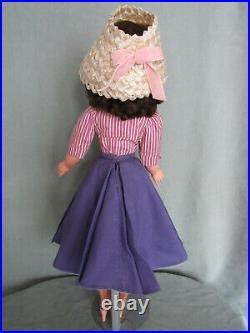 Lovely Brunette Summer Morning Cissy 1957 Original